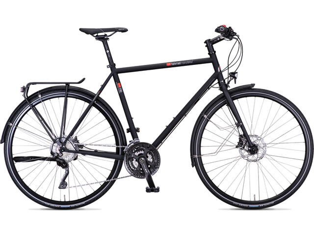vsf fahrradmanufaktur T-700 Trekkingcykel Diamant XT 30-speed Disc sort (2019) | City-cykler